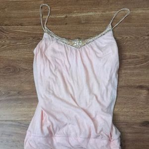 Abercrombie & Fitch pale pink tank